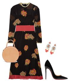 Untitled #3709 by elia72 on Polyvore featuring polyvore, fashion, style, RED Valentino, Christian Louboutin, Mansur Gavriel and clothing #elia72