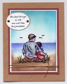 By the sea by lvogt - Cards and Paper Crafts at Splitcoaststampers