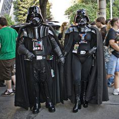 Male & Female Darth Vader