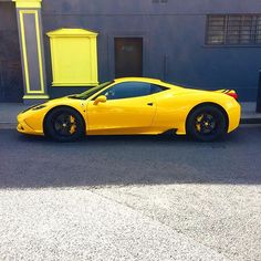 And it was all yellow #458speciale #Ferrari