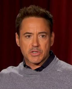 Robert Downey Jr. and his ridiculous lower eyelashes.  (Toronto, Sept. 2014)