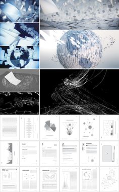 Open Text 'The Content Experts' by Tendril Design + Animation , via Behance
