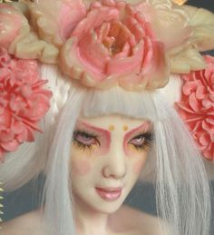 GEISHA ROSE  ooak PIN UP by Nicole West