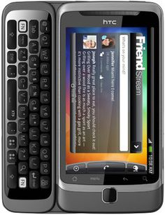the Ultimate Smartphone: A large touch screen with a slide-out keyboard that has physical buttons! - HTC Desire Z