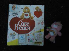 Vintage Panini CARE BEARS Sticker Album 1987 With McDonalds Rainbow Bear | eBay