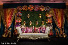 Wedding Backdrop Design, Desi Wedding Decor, Wedding Stage Design, Luxury Wedding Decor, Wedding Reception Backdrop, Wedding Unique, Wedding Ideas, Mehndi Stage Decor, Pakistani Mehndi Decor