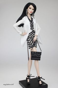 New outfit for Fashion Royalty, / FR 12 '/ FR2 /' Glam VII''