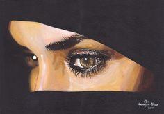 No words needed... Veiled Beauty, Jon Hamilton-Fford, United Kingdom, Painting