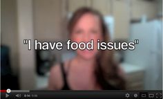 """I have food issues""  Do you?  Hmmm maybe its MUCH deeper than that"