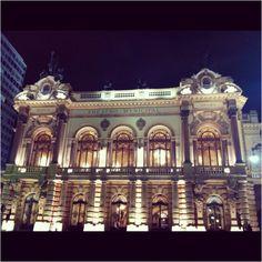 Municipal Theatre of São Paulo Brazil