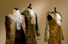 Men's paper costumes, 18th century. The Art of Isabelle de Borchgrave