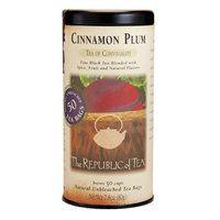 Cinnamon Plum Black Tea Bags | The Republic of Tea