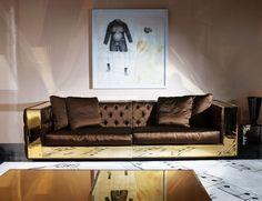 Nella Vetrina Visionnaire IPE Cavalli Magnolia Luxury Italian Sofa