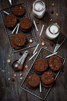 Chocolate Hazelnut Cookies | KiranTarun.com from @Kira Kira Kira Neal Srivastava