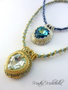 Martha Mollichella  Collana cristallo Swarovski a forma di cuore Gioielli  Di Nastro 69ff990cd99