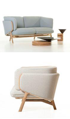 De La Espada, pure forms and tailored details for the collections designed by Luca Nichetto @delaespada