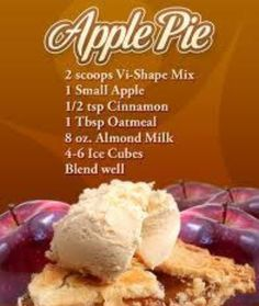 Apple Pie Body By Vi Shake Recipe  http://bambipotter.bodybyvi.com