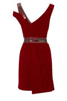 Draped Jersey Dress $66.69 on @ClozetteCo