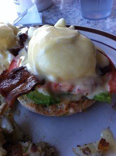 Eggs Benedict - Encinitas, CA style...