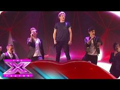 the boys performing Kiss You on USA X Factor.