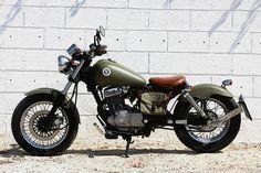 """Suzuki Marauder 125 """"Pocket Bobber"""" - Wheels Garage"""
