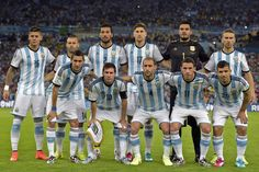 Congratulations Argentina:)  You'll do great representing the Americas at the world cup