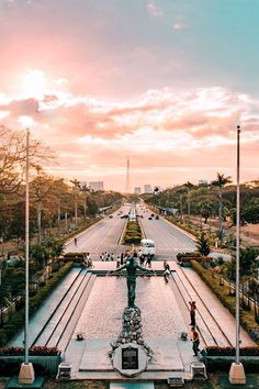 Golden Hour at the University of the Philippines Manila Philippines, Philippines Travel, Philippines Wallpaper, University Of Santo Tomas, Dream School, City Aesthetic, Scenery Photography, Night City, Travel Goals