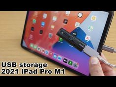 How to connect a USB storage flash drive to your iPad Pro 2021 M1 using a USB C to USB adapter - YouTube Apple Products, Ipad Pro, Flash Drive, Connect, The Creator, Usb, Storage, Youtube, Purse Storage