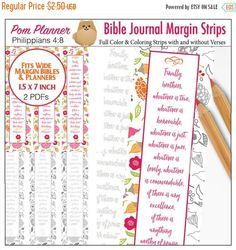 Sale 40% Off Printable Coloring Bible by DigiScrapDelights on Etsy