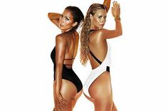 """Official artwork for """"Booty,"""" a collaboration between Jennifer Lopez and Iggy Azalea"""