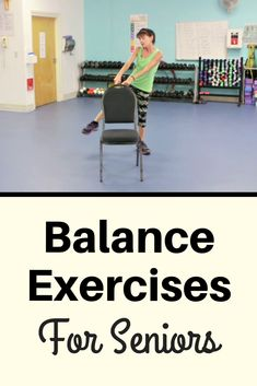 Senior Balance Exercises : Improve your balance, improve your muscle memory and help prevent falls by practicing these balance exercises Senior Fitness, Fitness Tips, Health Fitness, Senior Workout, Health Club, Fitness Games, Free Fitness, Yoga Fitness, Balance Exercises