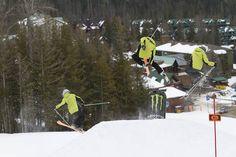 #Twintips test @SkiFernie terrain park #SkiCanadaTest. photo: Henry Georgi