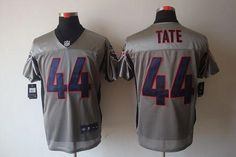 d8c7f6104 Tom Brady jersey Nike Texans  44 Ben Tate Grey Shadow Men s Stitched NFL  Elite Jersey