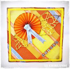 Le Ghirlande: Come creare card col nastrino di raso...Maris e Sara