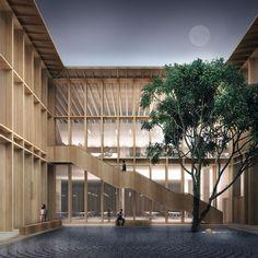 Mecanoo Çin'in Shenzhen kentinde yeni açılacak olan Longhua Sanat Müzesi ve Kütüphanesi için olan önerisi uluslararası mimarların yerel parametreleri dikkate almadıkları mega projelerden farklı olma iddiası taşıyor.