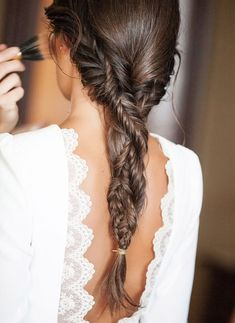Whimsical, ethereal and gorgeous, fishtails are über popular with the daring brides who aren't afraid to opt for a different hairdo on the big day.