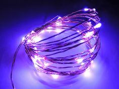AspenTek Dc 12v 5m 50 Led Copper String Light Operated By 12v Power Supply for Party Wedding Garden Home Restaurant Shop Bar Office Decoration (purple) >>> Additional details at the pin image, click it  : Christmas decor