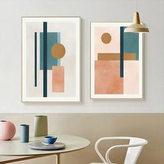 """""""Abstract Modern Geometric Designs Canvas Painting Wall Art Posters and Prints Pictures for Living Room Office Home Decoration"""" Living Room Pictures, Wall Art Pictures, Office Wall Decor, Wall Art Decor, Scandinavian Home Interiors, Rooms Home Decor, Room Decor, Contemporary Wall Art, Decoration"""