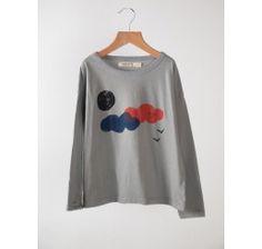 Bobo Choses T-shirt longsleeve Clouds