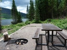 Camp Out Colorado's camping review of Pearl Lake State Park Campground.