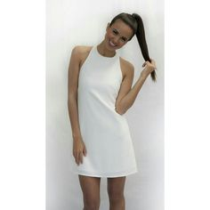 #freeshipping #fastdelivery Buy Dresses Online, Online Dress Shopping, Online Shopping Australia, Secret Closet, Discount Deals, Dress Brands, Going Out, White Dress, High Neck Dress
