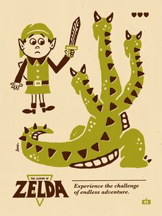 The Legend of Zelda by Cory Loven