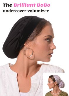 🌷🙏🌺This is the best quality Volume based cap! The fullness looks lovely and natural with any kind of headcovering. The Tichel Volumizer is Excellent for wearing under any tichel, head scarf, hair snood, pre tied bandana and more. #headscarf #tichel #Headwrap #Turban #summerstyle #beautiful #beauty #fashion #Volumizer #judaism #hebrew #headscarve #religion #religious #israel #israeli #pashmina #tichels #mitpachat #headcovering #modesty #beautiful #hairloss #chemo #hat New Pins, Head Wraps, Hair Loss, Beauty, Beautiful, Fashion, Moda, Turbans, La Mode