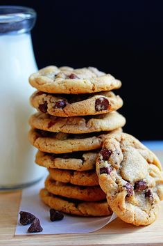 Perfect Soft and Chewy Chocolate Chip Cookies Recipe - The BEST Chocolate Chip Cookies you will EVER TASTE! | Grandbaby Cakes