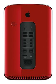 APPLE INC. MAC PRO Selected and customised by Jony Ive and Marc Newson for the (RED) Auction 2013. Edition 01/01.