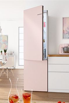 VarioStyle: exchangeable high quality colour fronts to easily restyle your fridge anytime. Stay Cool, Divider, Doors, Colour, Furniture, Home Decor, Color, Decoration Home, Room Decor