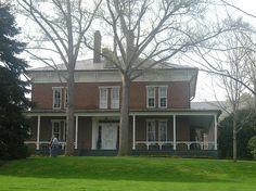 Robert E. Lee House on Washington & Lee U. campus Lexington, VA