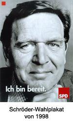 Gerard Schröder - Bundestag - 1998 - SPD