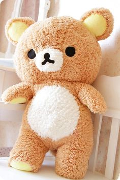 Cute Stuffed Kawaii Gift San-x Rilakkuma Relax Bear Soft Pillow Plush Toy Doll – Toys Mode Kawaii, Kawaii Shop, Kawaii Cute, Kawaii Diy, Kawaii Gifts, Kawaii Things, Cute Stuffed Animals, Ideias Diy, Cute Plush
