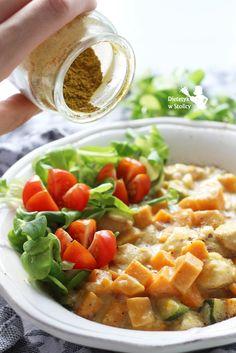 Dietetyk w stolicy » Curry ze słodkim ziemniakiem